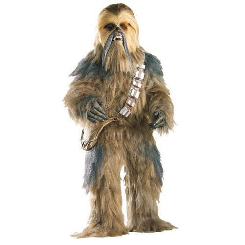 Party-Discount Herren-Kostüm Supreme Edition Chewbacca, Gr. XL