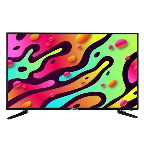 Adsun 60 cm (24 inches) HD Ready IPS LED TV A – 2400N (Black) (2019 Model)