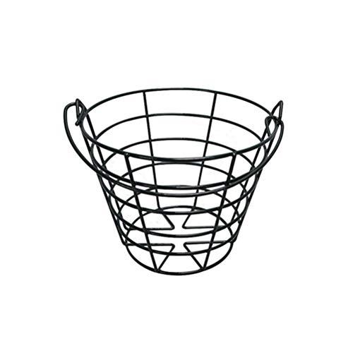 BESPORTBLE Golfball Metall Range Korb Golfball Container mit Griff im Freien Außerhalb Sport Golfplatz Lieferungen