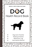 Dog Health Record Book: Cockapoo Lovers Edition | A Gift for Cockapoo Owners and Pet Lovers | The Holistic Dog Log Book for Cockapoo Moms and Dads
