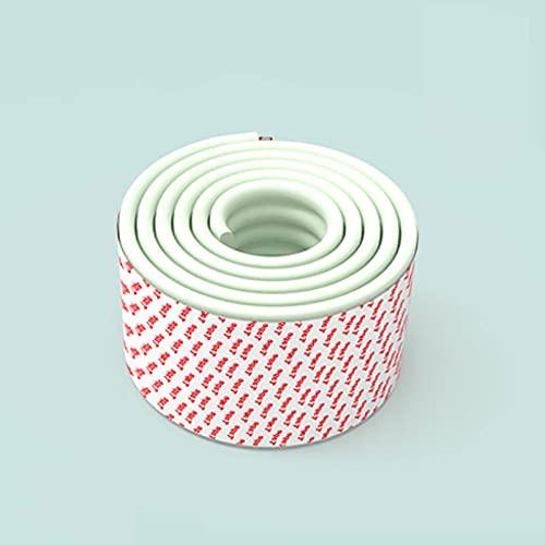 Tira de parachoques Protección de los niños 2 m de longitud Tabla Guardia 8PCS Ángulo anti-colisión Productos de seguridad para bebés Vidrio Edge Mueble Protección de esquina Adecuado para; protección