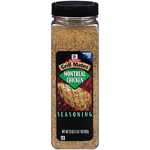 McCormick Grill Mates Montreal Chicken Seasoning 1 x 652g Bottle American Import