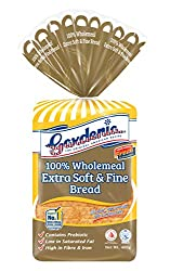 Gardenia Soft Wholemeal Bread 100%, 400g