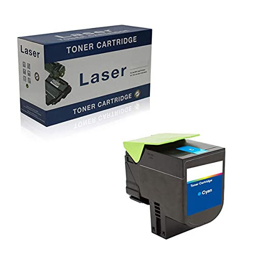 Gaolx Cartuchos de tóner compatibles de Repuesto para Lexmark C2325 C2320HK0 C2320HC0 C2320HY0 C2320HM0 para Usar con la Impresora Lexmark C2325 MC2325 MC2425 MC2535 MC2640, Magenta