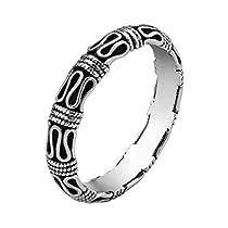 PIRATESHIP リング レディース シルバー925 純銀指輪 復古 アンテ...
