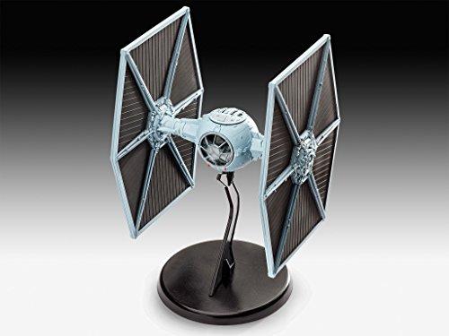 Revell Modellbausatz Star Wars TIE Fighter im Maßstab 1:110, Level 3, originalgetreue Nachbildung mit vielen Details, einfaches Kleben und Bemalen, 03605
