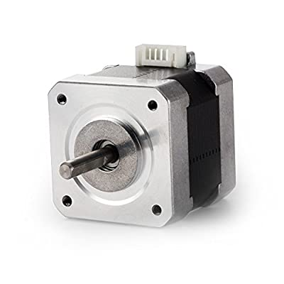 TopDirect Nema 17 Stepper Motor 1.7A 40Ncm(56.2oz.in) 2-Phase 4-Wire 1.8 Deg Stepper Motor with Bipolar Motor Cables for 3D Printer/CNC