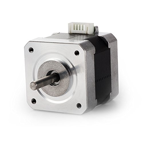 TopDirect Nema 17 Motore passo-passo 1.7A 40Ncm(56.2oz.in) 2-fasi 4-fili 1.8 gradi Stepper Motor con Cavi Motore Bipolari per Stampante 3D / CNC