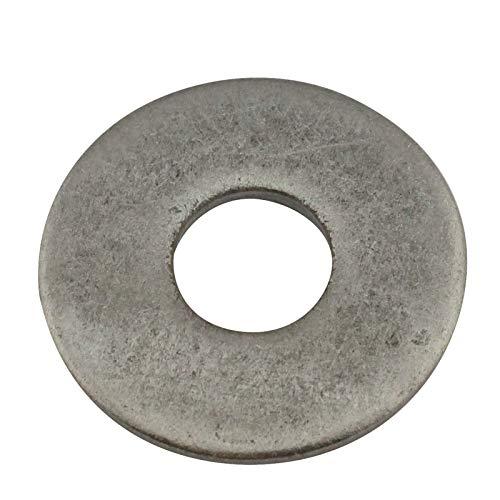 50 stuks - grote ringen DIN 9021 vorm A - roestvrij staal A2 V2A M4