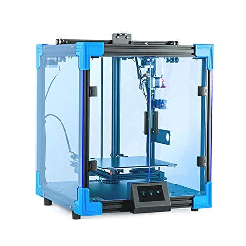 JFF Máquina Industrial De Bricolaje Silenciosa Impresora 3D Totalmente Metálica con Función De Reanudación De Impresión, Fuente De...