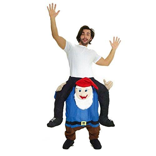 """Morph Neu Huckepack Tragen Witzig Kostüm Unisex - Gnom \""""Mit selbst füllen Beine\"""""""