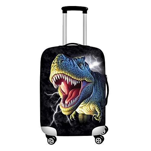 Agroupdream Dinosaurio Protector de Maleta Divertida de Dibujos Animados para Equipaje de 18-21 Pulgadas