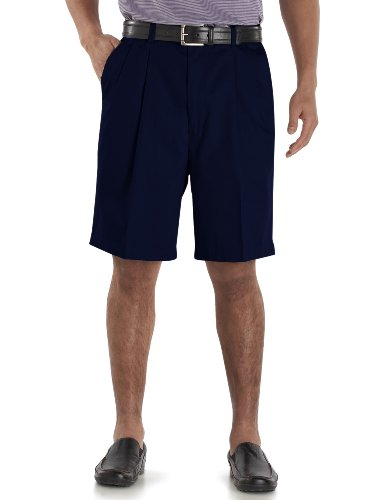 Cutter & Buck Big and Tall Classic Wrinkle Free Short Navy