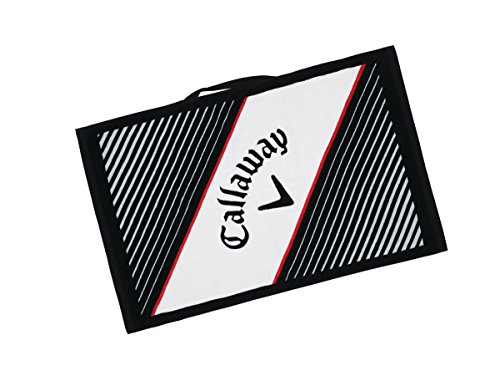 Callaway Golf 2017 Cotton Callaway Cart Towel, White, 16 x 24