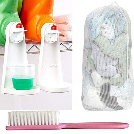 Tidy Cup Laundry Detergent and Fabric Softener Gadget
