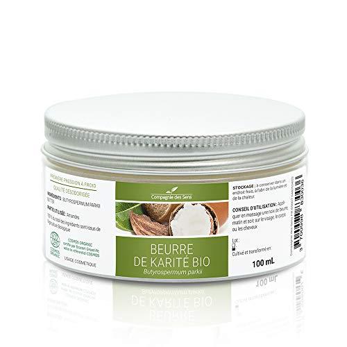 Karité - Beurre Végétal BIO - Première pression à froid - 100mL