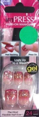 Maak indruk op Press-On Nails door Broadway Nails-Bipd290 - Verlicht door Broadway Nails door Broadway Nails