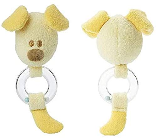 INTERNATIONAL BON- Woezel & Pip Baby Hochet Pip, 40224020, Jaune, Taille: 19 cm