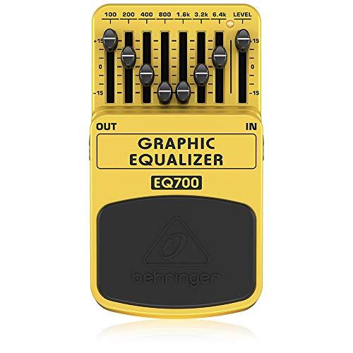 Behringer Graphic Equalizer EQ700 Ultimativer grafischer 7-Band Equalizer