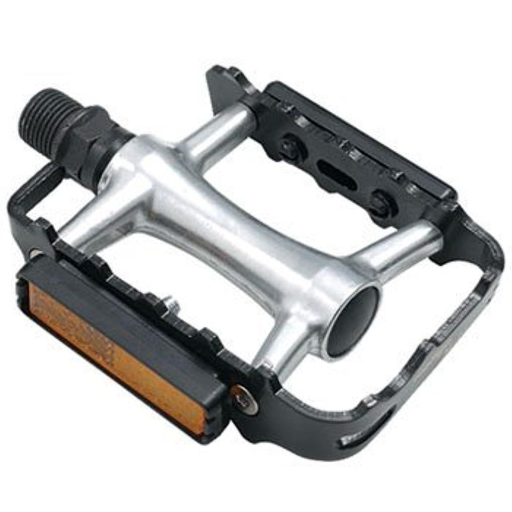市場同様の違反WELLGO(ウェルゴ) アルミペダル 薄型 ブラック 236g ロード/ATB/MTB M-21