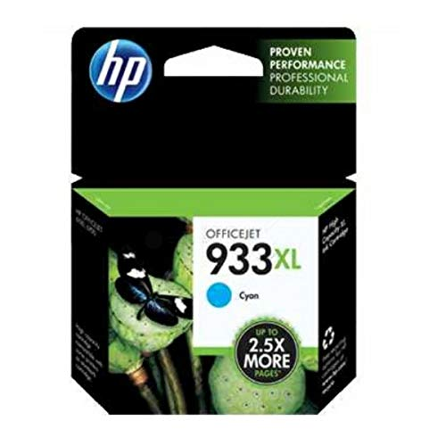 HP original - HP - Hewlett Packard OfficeJet 7510 Wide Format (933XL / CN054AE#301) - Tintenpatrone Cyan - 825 Seiten - 8,5ml
