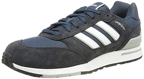 adidas Run 80s, Zapatillas de Running Hombre, AZMATR/FTWBLA/Tinley, 44 2/3 EU