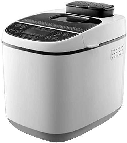 Sooiy Fastbake panificadora, Compacto rápido panificadora, Homebake panificadora, Multifunctiona Máquina de Hacer Pan, hogar automático máquina de Pan, 15H Designación Inteligente (110-220V) -Blanco