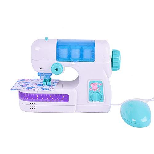 Sew Cool Sewing Studio - Juguetes para el Aprendizaje,Máquina de Coser Eléctrica Estudio Coser Inteligencia Actividades Juguete para Niñas Niños (26x10.2x19.5cm, Blanco)