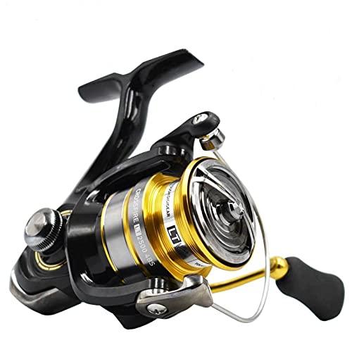 ZHYLing Carrete de Giro del Carrete de Pesca 1000-6000 ABS Metail Carrete 5-12KG Poder Duro Engranaje Ligero y Resistente Cuerpo (Spool Capacity : 4000 Series)