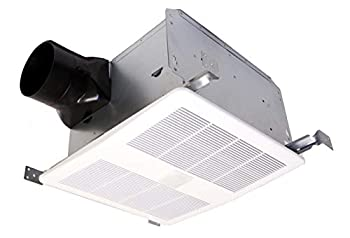 KAZE APPLIANCE SE90TM Ultra Quiet 90-CFM 0.3-Sones Dual Speed Bathroom Exhaust Fan with Motion Sensor and Delay Off Timer