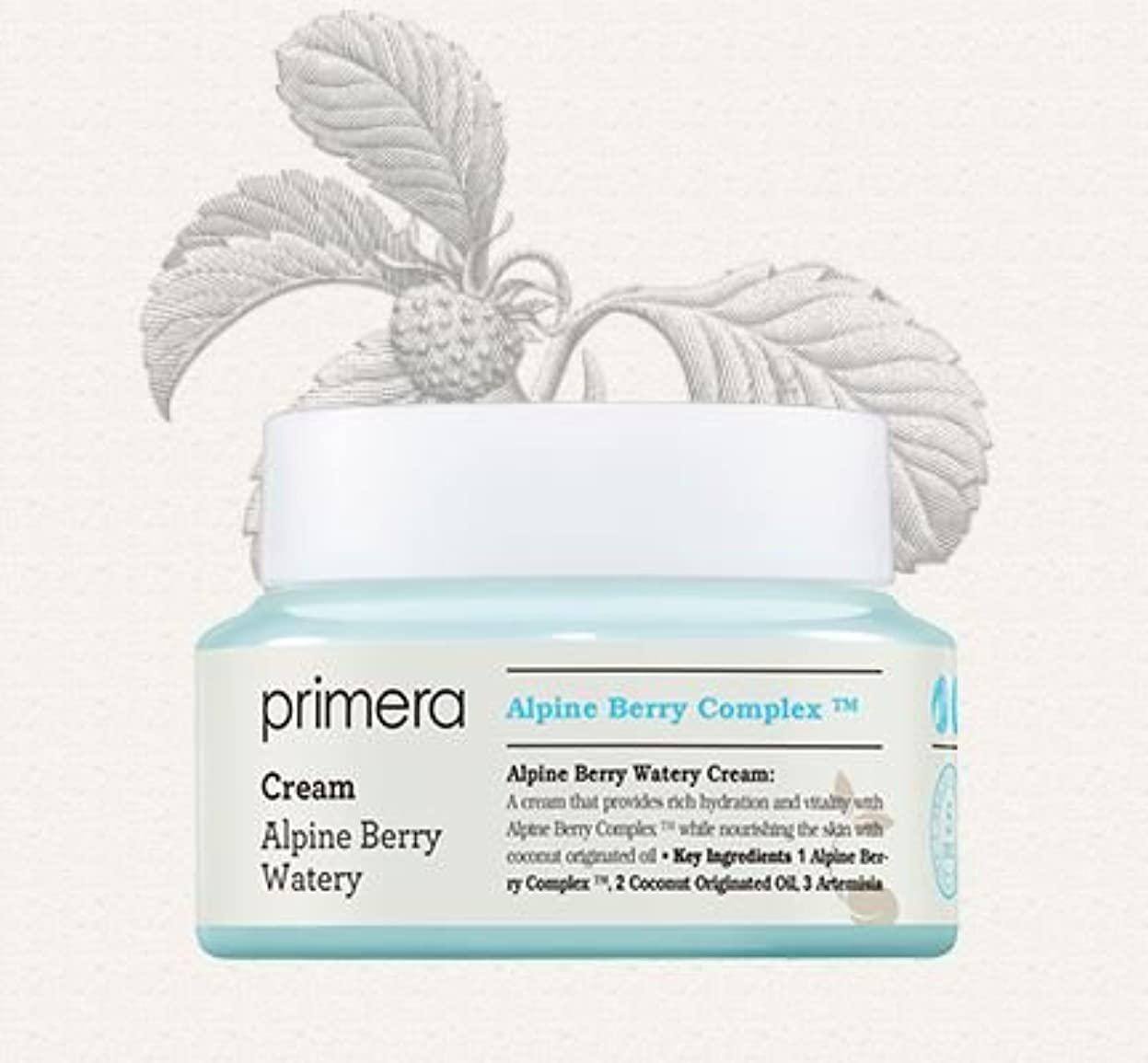 抑制する資源関与する[Primera] Alpine Berry Watery Cream 50ml/[プリメーラ] アルパインベリーウォーターリークリーム50ml [並行輸入品]