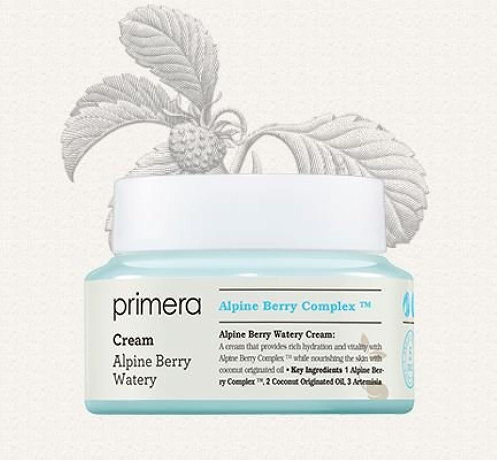 定説機知に富んだファイター[Primera] Alpine Berry Watery Cream 50ml/[プリメーラ] アルパインベリーウォーターリークリーム50ml [並行輸入品]