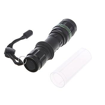 BANGNA Ultrafire 5000LM Zoomable XM-L T6 Lampe Torche à LED Super Bright Light