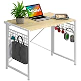 【Folding design】The 4NM computer desk can be folded freely. You can fold or unfold it in a few seconds without any assembly. With its folding design, it only takes up a small space, which can save your space. 【Small-sized desk】The desk is 35.43x18.11...