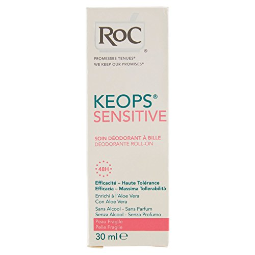 RoC Deodorant Roll-On Keops 48H 30 ml, Preis/100 ml: 29.83 EUR