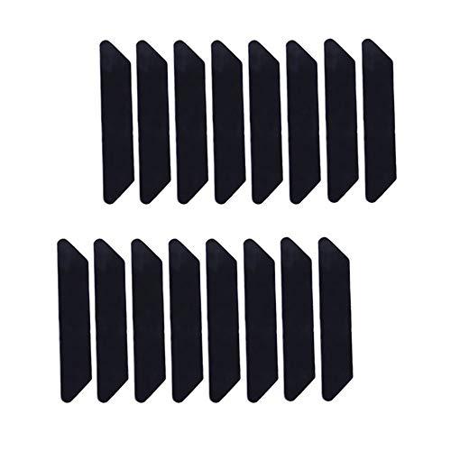 16 Stück Premium Anti-Rutsch- und Anti-Curling Teppichgreifer für Hartholzböden an Teppichecken, hält Ihre Teppiche an Ort und Stelle und macht Ecken flach.