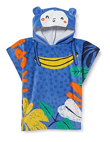 Tuc Tuc Poncho Tropicool Salida de baño, Azul, U para Niños
