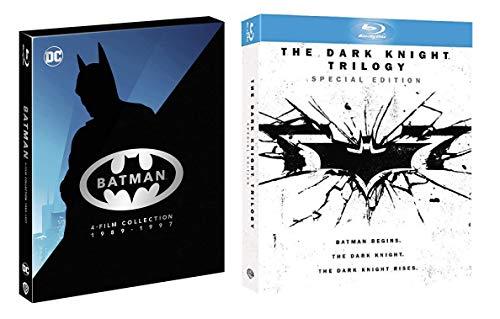 Batman Anthology - Il cavaliere oscuro Trilogia - The Dark Knight (7 film in BLU-RAY) Edizione Italiana - Registi Tim Burton + Joel Schumacher + Chistopher Nolan