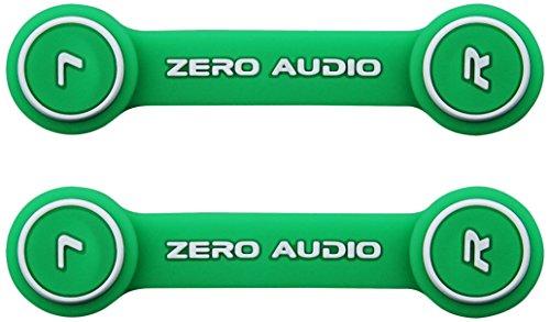 ZERO AUDIO ヘッドホンクリップ グリーン ZA-CLP-GW 2個入