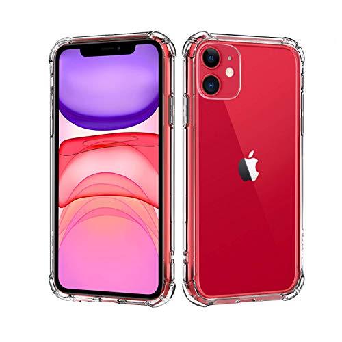 """Capa Protetora Para iPhone 11 Tela 6.1"""" Polegadas Capinha Case Transparente Air Anti Impacto Proteção De Silicone Flexível - Danet"""