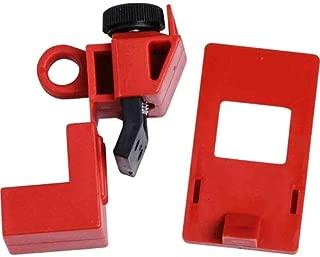 Brady 65396, 120/277V Red Polypropylene Clamp-On Breaker Lockout (Pack of 20 pcs)