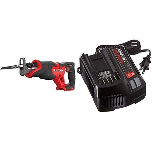 CRAFTSMAN V20 Reciprocating Saw, Cordless with Fast Charger, Battery Sold...