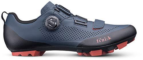 fizik Terra X5 MTB Schuhe Herren dunkel blau/Brick rot Schuhgröße EU 41 2020 Rad-Schuhe Radsport-Schuhe