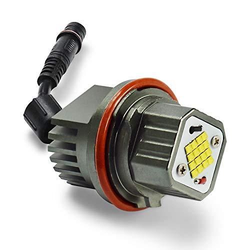 2x CREE 80W LED Angel Eyes Ampoule Tout en un pour E39 E53 E60 E63 E83 X5