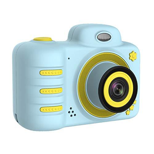 Nobrannd digitale kindercamera mini-camera simulatie micro SLR dubbele lens video digitale cartoon camera's kinderen jongen meisjes creatieve geschenken