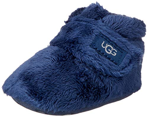 UGG unisex baby Bixbee and Lovey Fashion Boot, Navy, 0-1 Infant US