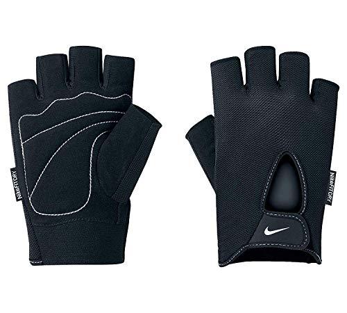 Nike Men`s Fundamental Training Gloves (Black(9092052037-001)/White, Large)