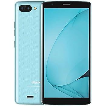 Blackview A20-5.5 Pulgadas (relación 18: 9) Android Go Smartphone, 1.3Ghz Quad Core 1GB + 8GB, 2MP + 5MP / 0.3MP cámara trifple, 3000mAh batería de Larga duración: Amazon.es: Electrónica