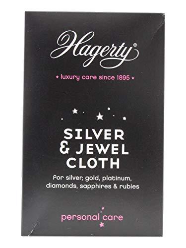 Preisvergleich Produktbild Hagerty a102207 Silber und Juwel Tuch Schwarz