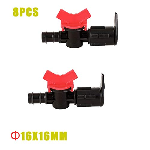 HXIANG Premium 4/8/16/20mm Slangschors x 1/2